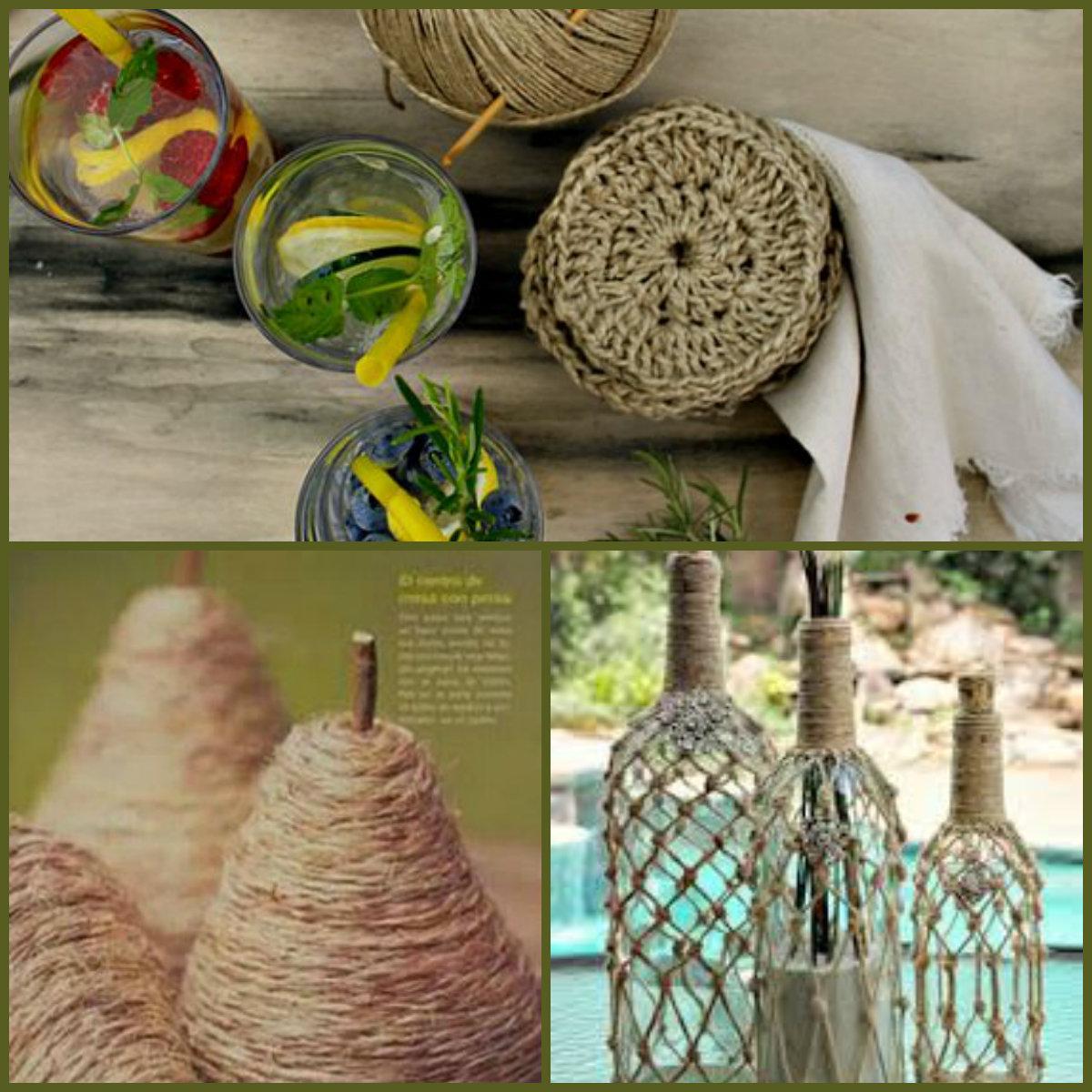Tantissime creazioni di spago e corda tutorial e idee for Creazioni casa fai da te