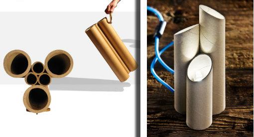 Tantissime idee e tutorial per il riciclo di semplici tubi di
