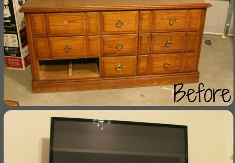 Tante soluzioni geniali per rinnovare vecchi mobili for Regalo mobili vecchi