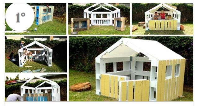 4 Idee Per Costruire Un Casetta Con I Pallet