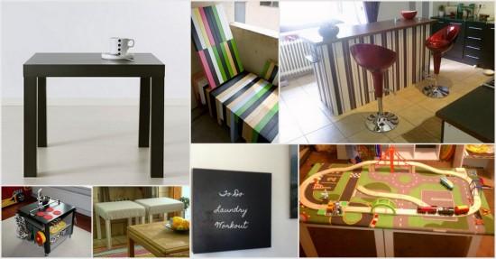 16 modi per utilizzare il tavolinetto economico ikea in - Tavolo economico ikea ...