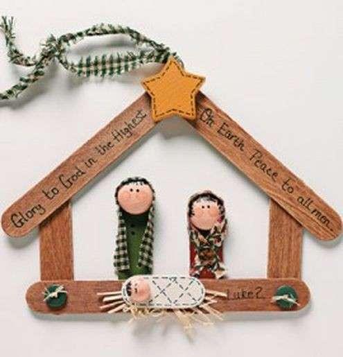 Lavoretti Di Natale Con I Bastoncini Del Gelato.Natale 15 Piccole Idee Super Creative Con Gli Stecchi Del