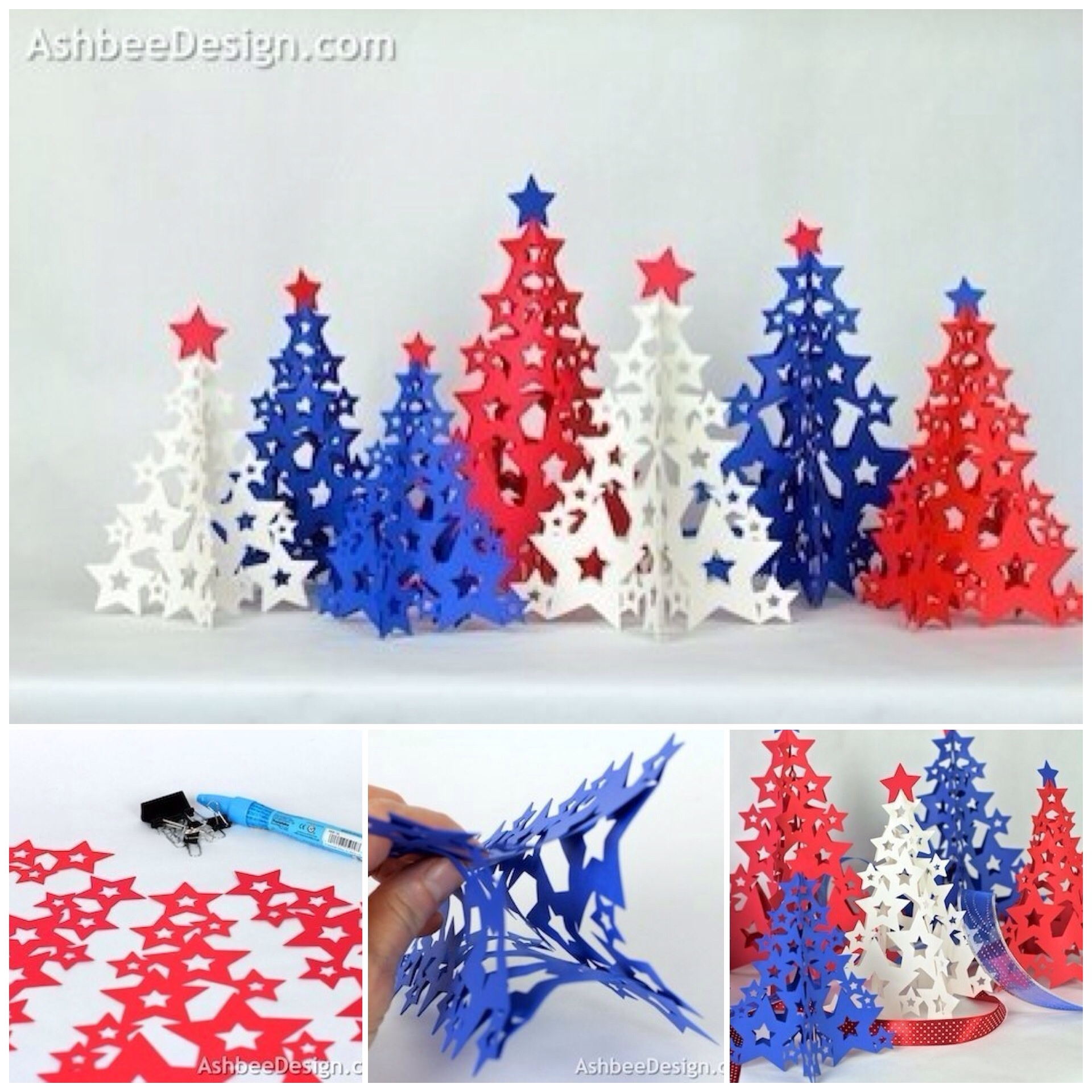 paper-christmas-tree-with-star-diy
